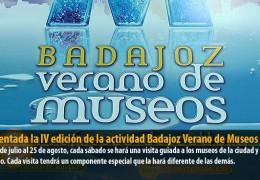 Presentada la IV edición de la actividad Badajoz Verano de Museos