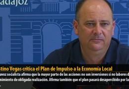 Celestino Vegas critica el Plan de Impulso a la Economía Local