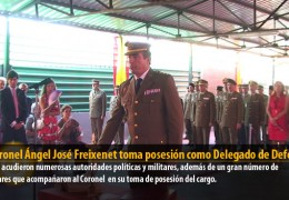 El Coronel Ángel José Freixenet toma posesión como Delegado de Defensa