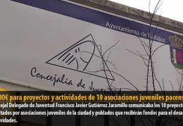 18.000€ para proyectos y actividades de 10 asociaciones juveniles pacenses