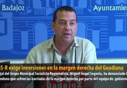 El GMS-R exige inversiones en la margen derecha del Guadiana
