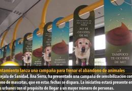 El Ayuntamiento lanza una campaña para frenar el abandono de animales