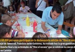 """Más de 68.000 personas participan en la decimosexta edición de """"Vive el verano"""""""