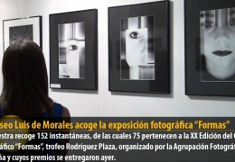"""El Museo Luis de Morales acoge la exposición fotográfica """"Formas"""""""