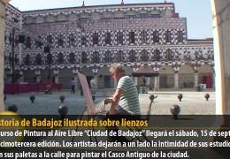 La historia de Badajoz ilustrada sobre lienzos
