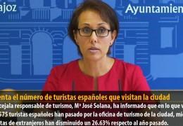 Aumenta el número de turistas españoles que visitan la ciudad