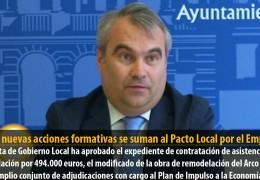Cinco nuevas acciones formativas se suman al Pacto Local por el Empleo