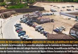 La Comisión de Urbanismo aprueba la ampliación del área de rehabilitación del Campillo