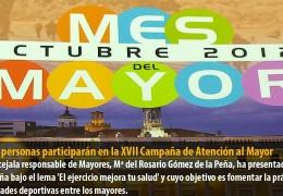 1.400 personas participarán en la XVII Campaña de Atención al Mayor