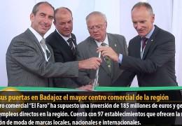 Abre sus puertas en Badajoz el mayor centro comercial de la región