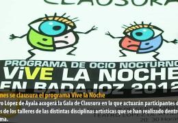 El viernes se clausura el programa Vive la Noche