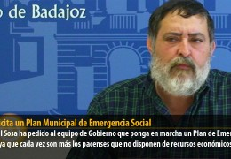 IU solicita un Plan Municipal de Emergencia Social