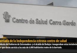 La Barriada de la Independencia estrena centro de salud