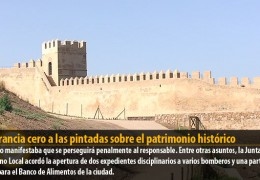 Tolerancia cero a las pintadas sobre el patrimonio histórico