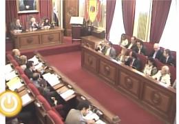 Pleno ordinario de octubre de 2012 del Ayuntamiento de Badajoz