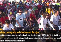 La bicicleta, protagonista el domingo en Badajoz