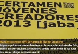 El Ayuntamiento convoca el VII Certamen de Jóvenes Creadores