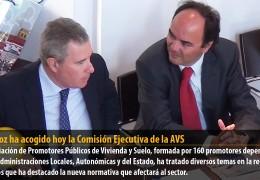 Badajoz ha acogido hoy la Comisión Ejecutiva de la AVS