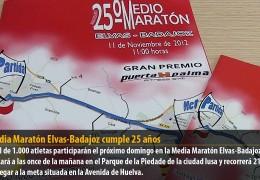 La Media Maratón Elvas-Badajoz cumple 25 años