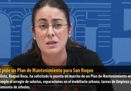 GMS-R pide un Plan de Mantenimiento para San Roque