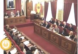 Pleno ordinario de noviembre de 2012 del Ayuntamiento de Badajoz