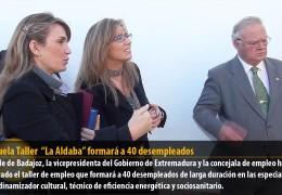 """La Escuela Taller """"La Aldaba"""" formará a 40 desempleados"""