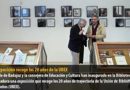 Una exposición recoge los 20 años de la UBEX