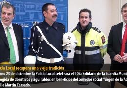 La Policía Local recupera una vieja tradición