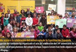 El alcalde asiste a la celebración del aniversario de la Constitución Española