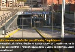 Vegas pide una solución definitiva para el Parking Conquistadores