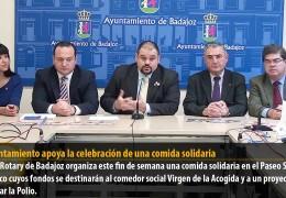 El Ayuntamiento apoya la celebración de una comida solidaria