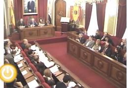 Pleno ordinario de diciembre de 2012 del Ayuntamiento de Badajoz