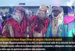 La Cabalgata de los Reyes Magos llena de alegría e ilusión la ciudad