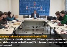 El Ayuntamiento reduce el presupuesto destinado a FITUR