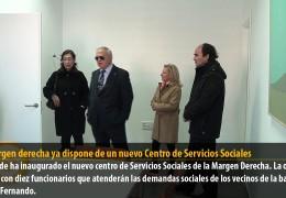 La margen derecha ya dispone de un nuevo Centro de Servicios Sociales