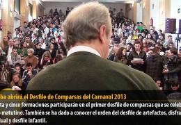Balumba abrirá el Desfile de Comparsas del Carnaval 2013