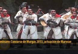 Actuación  de Marwan (Preliminares 2013)