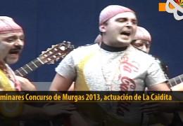 Actuación  de La Caidita (Preliminares 2013)
