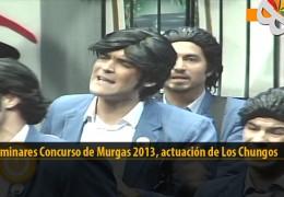 Actuación  de Los Chungos (Preliminares 2013)