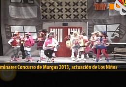 Actuación  de Los Niños (Preliminares 2013)