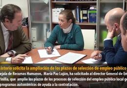 El Consistorio solicita la ampliación de los plazos de selección de empleo público