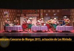 Actuación de Los Mirinda (Preliminares 2013)
