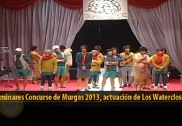 Actuación  de Los Watercloset (Preliminares 2013)