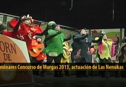Actuación  de Las Nenukas (Preliminares 2013)