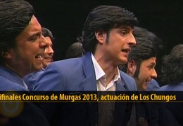 Actuación  de Los Chungos (Semifinales 2013)