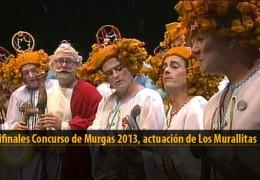 Actuación  de Los Murallitas (Semifinales 2013)