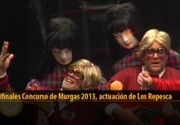 Actuación  de Los Repesca (Semifinales 2013)