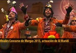 Actuación  de Al Maridi (Semifinales 2013)
