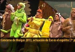 Actuación de Ese es el Espíritu (7º puesto Final 2013)