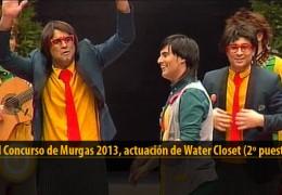 Actuación de Water Closet (2º puesto Final 2013)